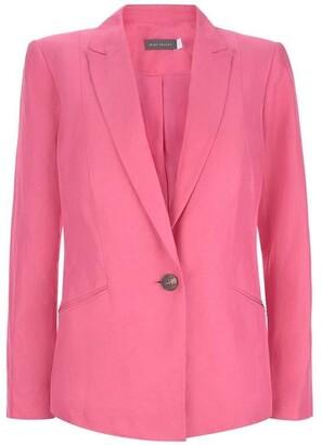 Mint Velvet Bubblegum Tailored Blazer