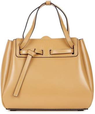 Loewe Lazo Mini Camel Top Handle Bag