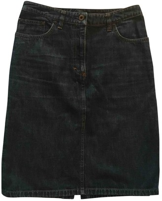 Miu Miu Blue Denim - Jeans Skirt for Women Vintage