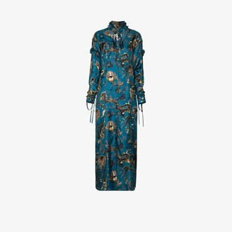 Evi Grintela Serenity silk maxi dress
