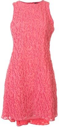 Brandon Maxwell Sleeveless Mini Dress