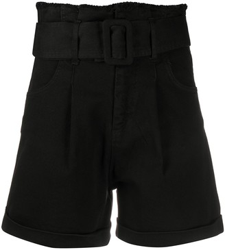 FEDERICA TOSI High Waisted Paperbag Shorts