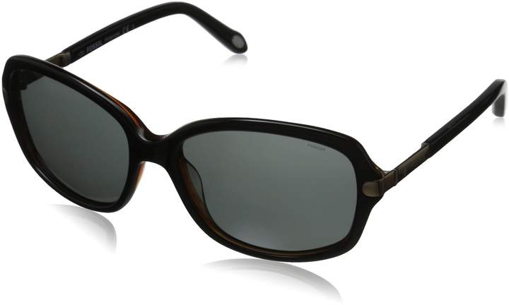 Fossil Women's FOS2010PS Polarized Rectangular Sunglasses