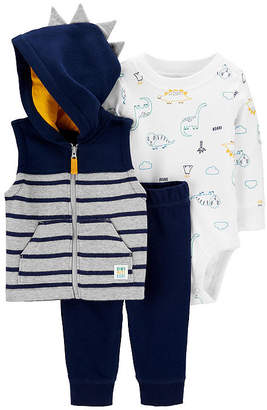 Carter's Boys 3-pc. Striped Pant Set Baby