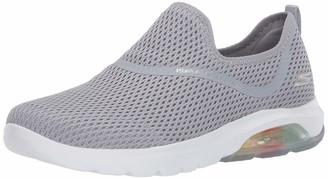 Skechers Women's GO Walk AIR-124073 Sneaker Gray 8.5 Medium US