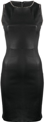 Philipp Plein Stud-Detail Fitted Mini Dress