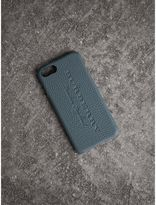 Burberry Leather iPhone 7 Case, Blue