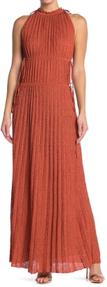 M Missoni Ribbed Knit Maxi Dress