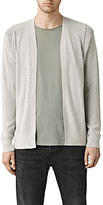 Allsaints Allsaints Kett Cotton Cardigan, Light Grey Marl