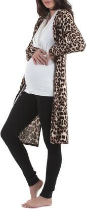 Angel Maternity Cardigan, Top & Pants Maternity/Nursing Set