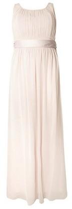 Dorothy Perkins Womens Showcase Curve Blush Bridesmaids 'Natalie' Maxi Dress