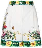 Dolce & Gabbana Majolica print shorts