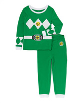Intimo Mighty Morphin' Power Rangers Green Pajama Set - Toddler & Girls