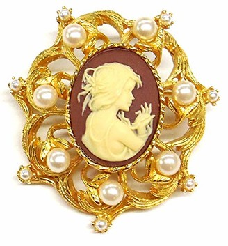 Ben-Amun Jewelry Cameo Collection Brooches Fashion Jewelry for Woman