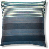 Dransfield and Ross Stripe Mix 24x24 Sunbrella Pillow