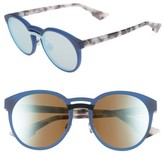 Christian Dior Women's Onde 50Mm Rounded Sunglasses - Black/ Havana
