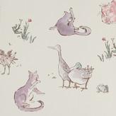 Osborne & Little - Zagazoo Collection - Quentin's Menagerie Wallpaper - W606303
