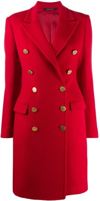 Tagliatore Becky double-breasted coat