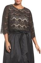 Eliza J Plus Size Women's Lace Crop Top