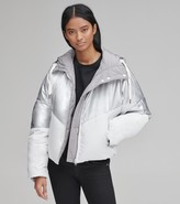 Andrew Marc Final Sale LUNA METALLIC DOWN JACKET