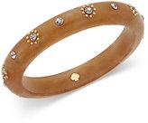Kate Spade Out Of Her Shell Gold-Tone Tortoiseshell-Look Bangle Bracelet