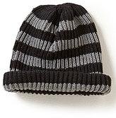 Class Club Striped Roll Beanie Hat