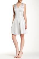 Carmen Marc Valvo Textured Dress