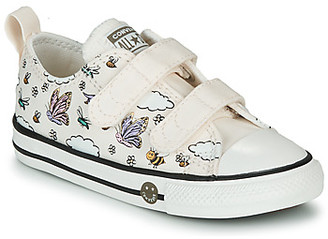 Converse CHUCK TAYLOR ALL STAR 2V CAMP girls's Shoes (Trainers) in White