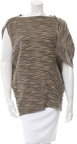 Yigal Azrouel Wool Striped Top
