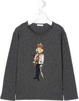 Dolce & Gabbana king dog appliqué top