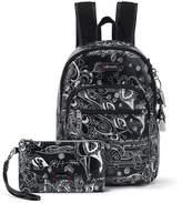 Sakroots Artist Circle Mini Backpack Black-Black-Black