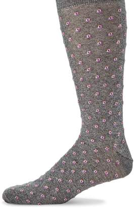 Saks Fifth Avenue Tiny Tiles Socks