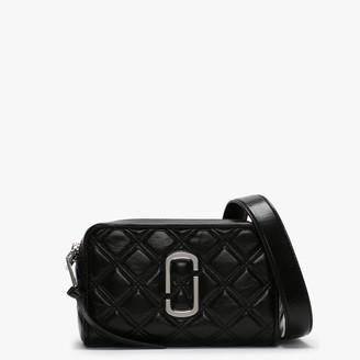 Marc Jacobs Quilted Softshot Black Leather Camera Bag