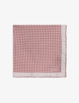 Tom Ford Silk pocket square 40cm x 40cm