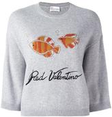 RED Valentino goldfish detail jumper