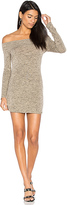 Riller & Fount x REVOLVE Jimmy Off Shoulder Dress in Beige. - size 1 / S (also in 2 / M,3 / L)
