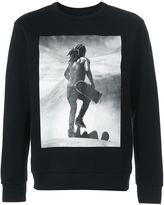Palm Angels skater print sweatshirt