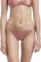 YAMMA Women's Swimwear Side-Ties Bikini Bottom (Multi L)