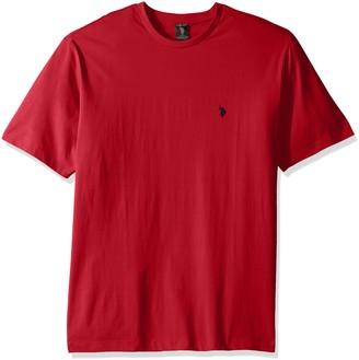 U.S. Polo Assn. Men's Tall Big & Tall Crew Neck Small Pony T-Shirt