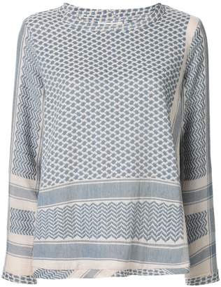 Cecilie Copenhagen patterned relaxed blouse