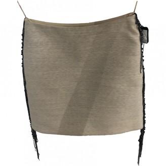 Lanvin Beige Wool Skirt for Women