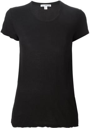 James Perse scoop neck T-shirt