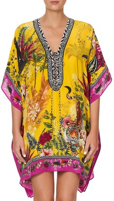 Camilla Then, Now, Ever After Lace Up Kaftan
