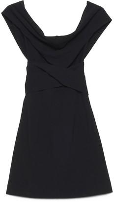 Dolce & Gabbana Bow Draped Dress