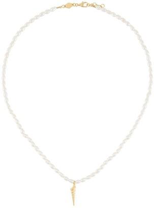 Anni Lu Turret Shell Pearl Necklace