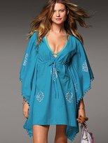 Victoria's Secret Print Cotton Caftan