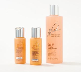 Nick Chavez Liquid Silk Blow-Out Smoother w/ Travel Products