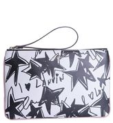 Lanvin Large Pouch With Star Print