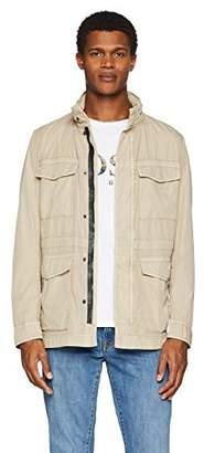 BOSS Men's Oriol-d Jacket, ( Beige 263), (Size: 48)