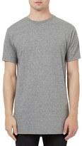 Topman Longline Crewneck T-Shirt